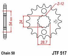 F51718: JT SPROCKETS Piñon JT 517 de acero con 18 dientes
