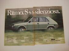 advertising Pubblicità 1979 FIAT RITMO 65 CL