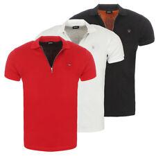 DIESEL Polo Camicia T-Eye Polo Polo Camicia 3 Colori Bianco Nero Rosso Nuovo
