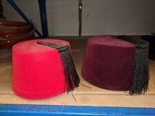 68e8b821e83 Fez Hat In Costume Hats   Headgear