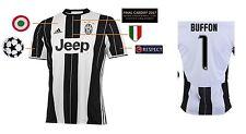 MAGLIA Juventus Torino CHAMPIONS LEAGUE FINAL Cardiff 2017-BUFFON [164-xxl]