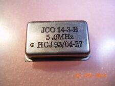 Quarzo OSCILLATORE 5.0mhz DIL-chassis HCJ JCo