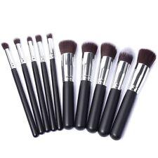 10pcs Make Up Brushes Foundation Concealer Bronzer Contour Blending Blusher Set