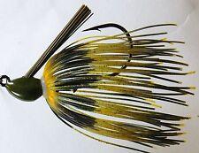 Bob4Bass Skirted Grass Jig Walleye US022