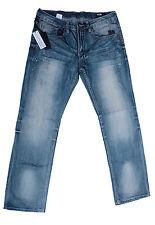 NWT ($109) Buffalo DB Six Slim Straight Distressed Blue Jeans. 100% Authentic.