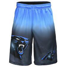 Carolina Panthers NFL Gradient Big Logo Training Shorts FREE SHIP!
