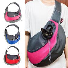Pet Dog Cat Puppy Carrier Comfort Travel Tote Shoulder Bag Sling Backpack Mesh