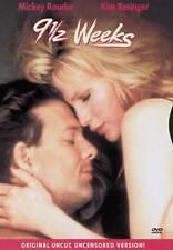 9 1/2 Weeks (Original Uncut Uncensored Version) DVD, Mickey Rourke, Kim Basinger