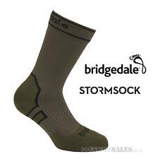 Bridgedale STORMSOCK Midweight Boot Olive  - Waterproof & Breathable Socks