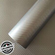 Carbonio 4D Dark Grey Pellicola Adesiva Rivestimento Auto Car Wrapping