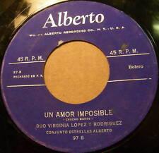 DUO VIRGINIA LOPEZ Y RODRIGUEZ + Justicia Latin 45