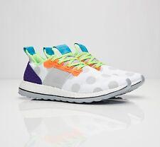 NIB ADIDAS x KOLOR Pure Boost ZG Men's Sneakers White Grey Polka Dot BA9957