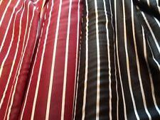 "Viscose relapsing stripes 'Prorsum' dress lining fabric, £1.50/m 1.12m/44"" wide"