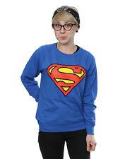 DC Comics Women's Superman Logo Sweatshirt