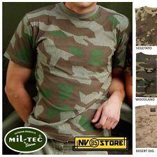 Maglia T-SHIRT MIL-TEC Maglietta Militare Camo Mimetica Softair Survivor COTONE
