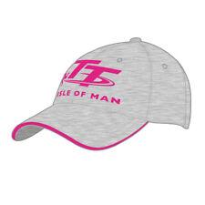 Official Isle of Man TT Races Ladies Grey & Pink Cap - 18ALBC