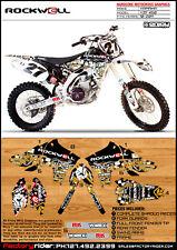 2010-2013 YAMAHA YZF 450 Rockwell Motocross Graphics Dirt Bike Graphics Decal