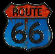 Route 66 auto adhésif en vinyle autocollant
