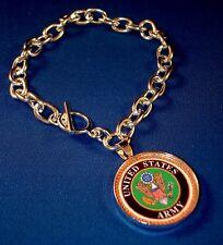 Army Charm Bracelet
