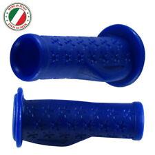 COPPIA MANOPOLE FLESSIBILE BICI PER BAMBINI BLU 90mm 22.2mm TRICICLO COMODO