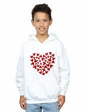 Disney Boys Mickey Mouse Heart Silhouette Hoodie