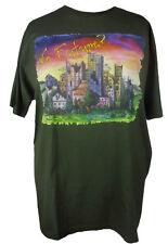 T-shirt Herren Stadt no future bio öko olive S M L XL XXL 3XL 4XL große Größen