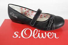 s.Oliver Ballerina Slipper schwarz Lederinnensohle NEU!!