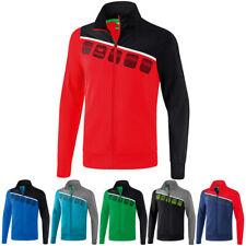 Erima 5-C Polyesterjacke Trainingsjacke Fußball Handball Sport Fitness Jogging