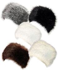 b86e8b3374d08 LADIES WOMENS THICK WARM FAUX FUR RUSSIAN HAT COSSACK HEADBAND WINTER EAR  WARMER