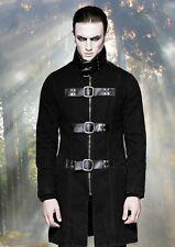 Gothic Steampunk Nugoth Jacke Mantel EBM Punk Rave Buckles M L XL XXL XXXL