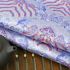 Chinese Ancient Silk Satin Brocade Clothing Costume Dress Kimono Fabric By Meter