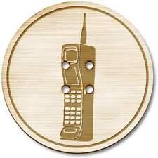 Son los botones de madera en teléfono' (BT019863)