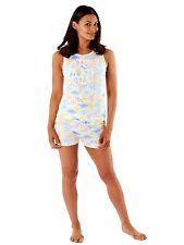 Womens Ladies Floral Pyjamas Nightie Shirt Shorts Set UK Sizes