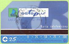 Prison phonecard - Poland - Zakład Karny - round stamp