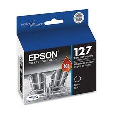 Genuine Epson T127 127 Black ink Workforce 840 635 633 630 WF 7010 7510 7520