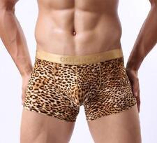 Briefs For Men Boy Boxer Leopard Print Camouflage Underwear Pants COCKCON