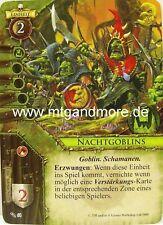 Warhammer Invasion - 1x Nachtgoblins  #064