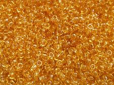 TOHO Perline 2,2mm 11/0 transparente giallo 10g 20g TOHO 11/0 2,2mm Code: 2
