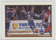 1991-92 O-Pee-Chee #378 Esa Tikkanen Edmonton Oilers Hockey Card
