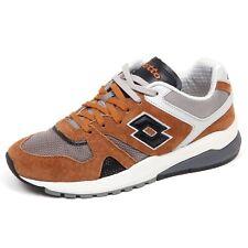 F5776 sneaker uomo brown/black LOTTO LEGGENDA MARATHON shoe man