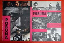 SAMURAI REBELLION TOSHIRO MIFUNE 1967 MASAKI KOBAYASHI 1SH EXYU MOVIE POSTER
