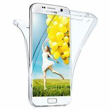 Coque housse etui 360° silicone integrale pour Samsung Galaxy S7 Edge Protection