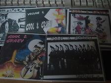 Rockabilly/rock 'n' roll cds- COOL & CRAZY COMPLETE SET OF 5 cds