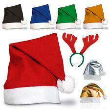 1-50 Unisex Papá Noel Sombreros Navidad Santa Familia Adulto/Infantil Lote