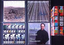Steve REICH & Michael Tilson THOMAS Signed 1982-88 4CD Desert Music Tehillim etc