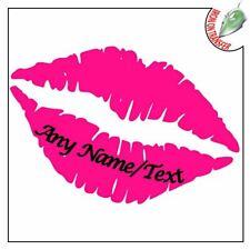 Custom Pink Lips Iron On T Shirt Transfer Light Fabrics Hen Party Personalised