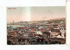 antica cartolina di genova spedita nel 1913