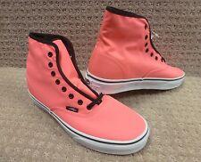 "Vans Men's Shoes ""Authentic HI"" -- Neon Pink"