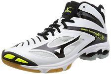 Mizuno Volleyball Shoes Wave Lightning Z3 MID V1GA1705 White Black Yellow Japan