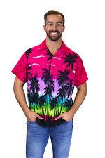 "Camisa Hawaiana | ""Beach"" | Rosa |  XS - 12XL"